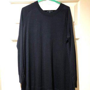 COS Navy Sweater Dress
